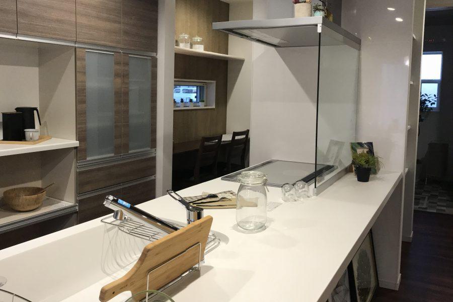 キッチン 家事室