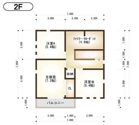 2F平面図<br />