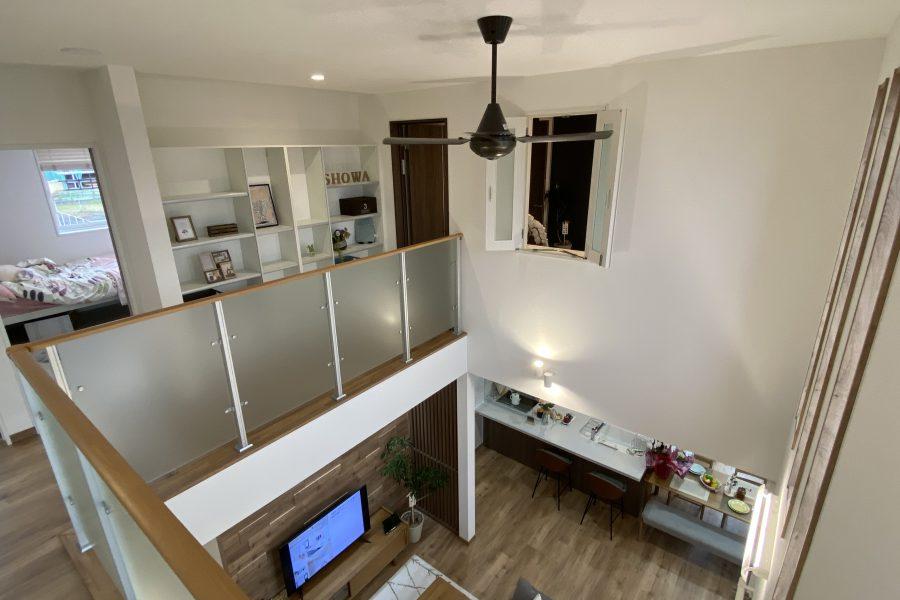 吹抜<br /> 6.3帖の吹抜はリビングの明るさや開放感だけでなく、1階と2階をつなぐ家族のつながりの場です。